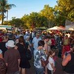 crowds get bigger before dark
