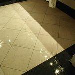 Leak onto floor in Bathroom ~ Coba Building Room 3119