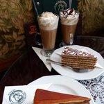 Coffee and dessert at Ruszwurm