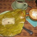 Delicious Sticky Rice treats and Lattes
