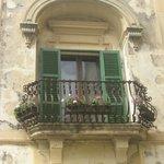 Mdina baroque window