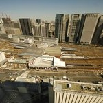view to Shinagawa station, 33 floor