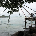 The Chinese fishing nets/Jetty - 5 mins walk from the hotel