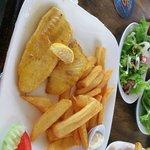 good value, good amount, fresh fish USD 6 per portion
