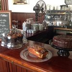 Wednesday is cake and coffee morning.