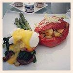 Chef Samson Special Eggs Benedict at Azur