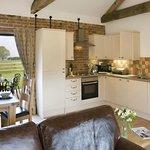 Partridge Barn Kitchen Area