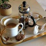Coffee in Tea Lounge