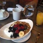 Granola Breakfast at New Sheridan