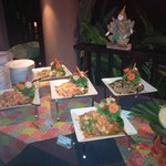 Buffet Thai au restaurant Azur