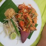 Phad Thai au restaurant Edge