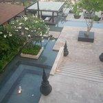 Vue sur le restaurant Azur