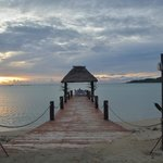 Private dining pier