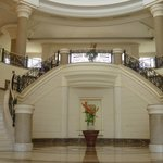Grand Stairs up to Reception