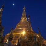 Shwedagon in the evening