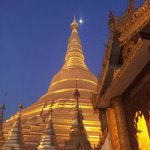 Shwedagon at twilight