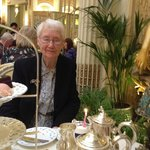 My mum and her unexpected birthday cake