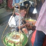 Thai Foods street inside Pratunam