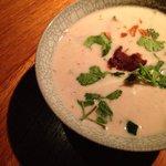 Coconut soup.Yummy!Nahm,2014