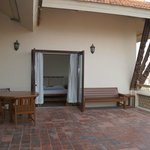 Our massive terrace!