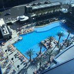 View of the pool from the 12th floor