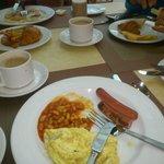breakfast - various food