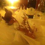 Frittelle di mele con gelato al rosmarino e cioccolata fondente