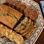 Fresh baked breads and cookies