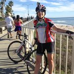Happy on Highway 1 with my Synaptic Bike!