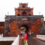 Main Entrance Gate to Hue Imperial Palace