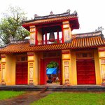 Bell tower gate to Hue Imperial Palace