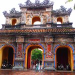 Two Tier Triple Arc Gate at Hue Imperial City