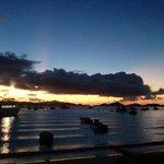 Cruz Bay at Sunset
