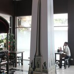 Their replica of the Victory Monument