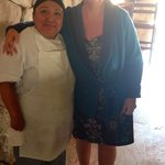 With the amazing jefe de cocina,