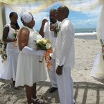 A beach wedding.we can take care of everything for you.