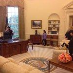 Oval Office replica, Bush Presidential Center, Dallas