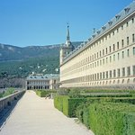 West side of El Escorial