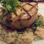 Grilled Swordfish with Coconut Risoto