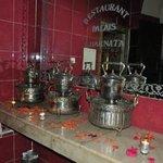 Pots anciens pour ablutions