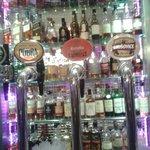 The range of malt whiskies on offer