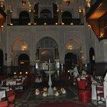 salle pour mariages, somptueux décor
