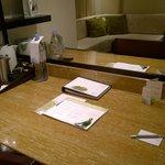 Spacious writing table