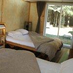 Chambre pour 4 avec accès au spa