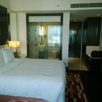 Double room with king bed in exec club floor