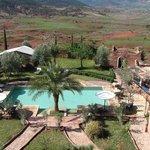 vue de la terrasse de la kasbah