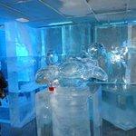 ornamenti di ghiaccio