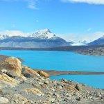 Lago en el mirador del Upsala