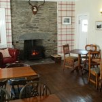 Comfy lounge for relaxing with log burning stove. Excellent for those cold, wet nights.