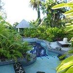 the Secret River swimming pool